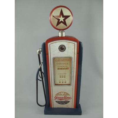 Benzinepomp wanddeco 3D