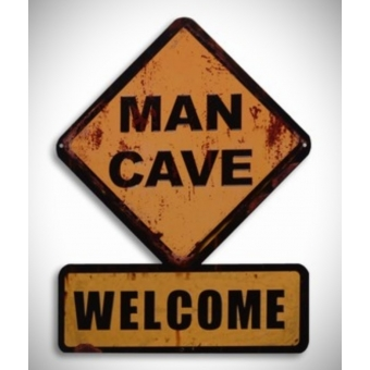 Mancave welcome