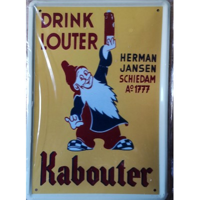 Louter Kabouter jenever bord