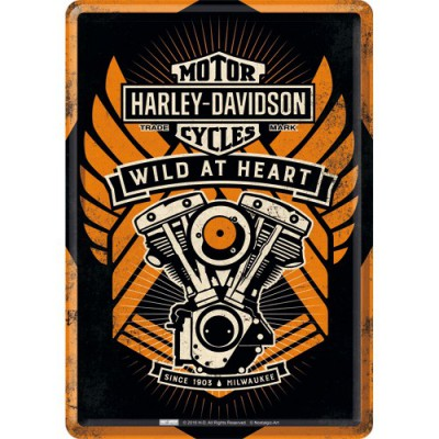 Kaart Harley Davidson Wild at heart