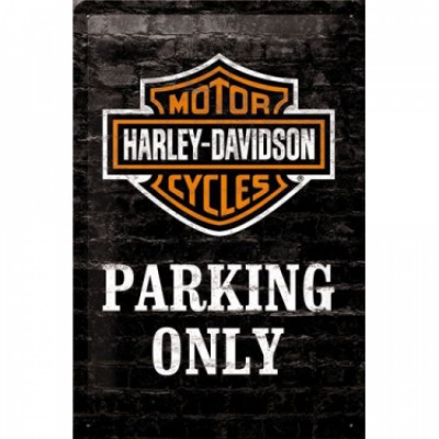 Bord Harley Parking Only