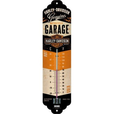 Thermometer Harley Garage