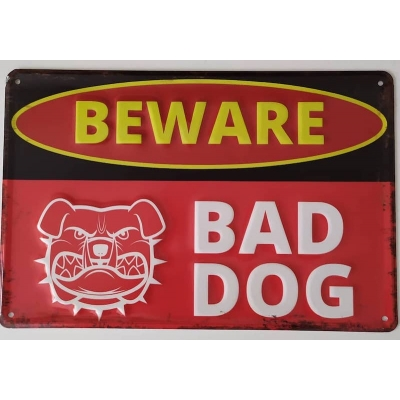 Bord Beware of Dog