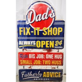 Dad's Fixit Shop bord