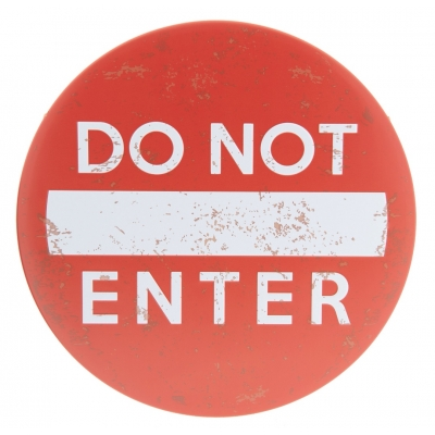 Do not enter!!