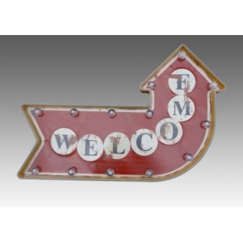 Bar bord Welcome