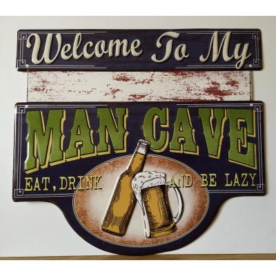 Welcome to the mancave